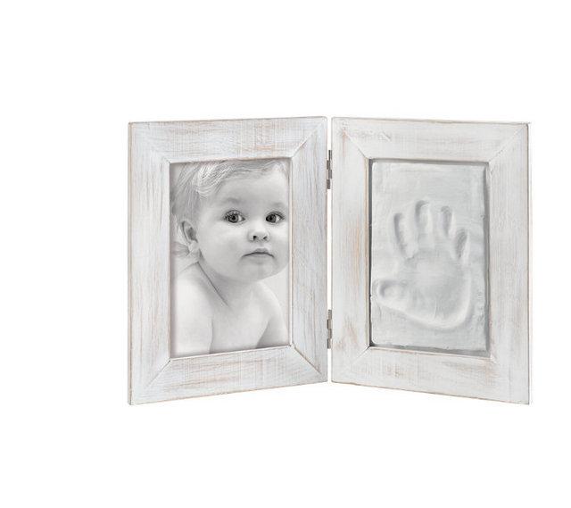 NOVINKA od Mascagni - Bílé fotorámečky s modelovací hmotou