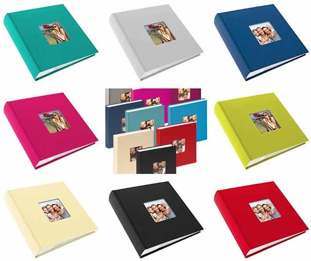 Novinky Goldbuch - decentní jednobarevné fotoalba