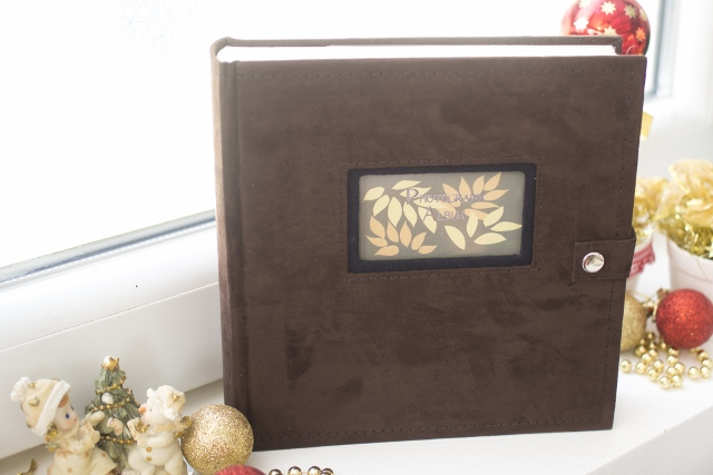 Fotoalbum SAVANAH 200 dark brown