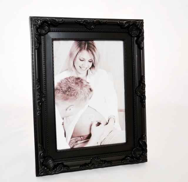 Fotorámeček BAROK BLACK 10x15