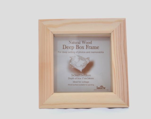 Fotorámeček BOX FRAME 7,5x7,5
