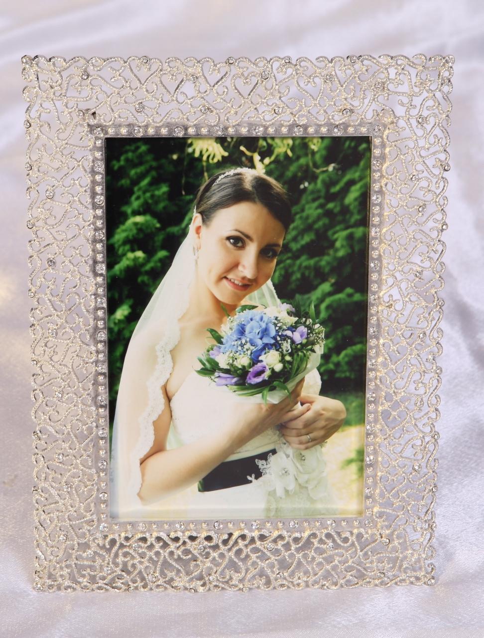 Fotorámeček  SILVER  WEDDING 13x18/M269