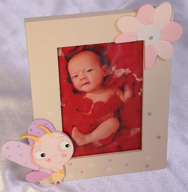 Fotorámeček PINK BUTERFLY - M378