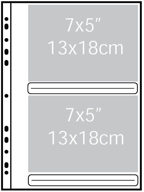 Náhradné listy 13x18cm do Fotoalbumu ULTIMATE - 1