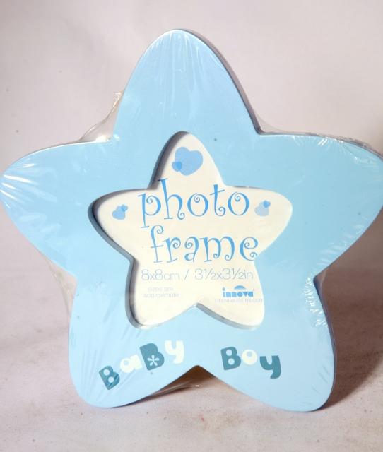 Fotorámeček BLUE STAR and PINK HEARTS - 2