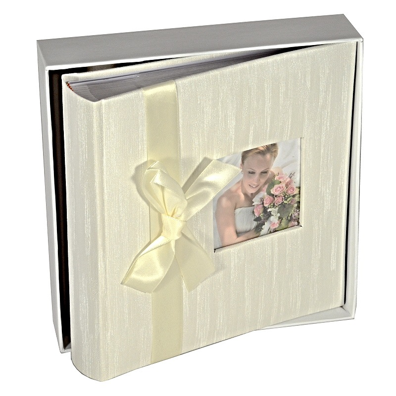 Fotoalbum RIBBON WEDDING 200 s boxem