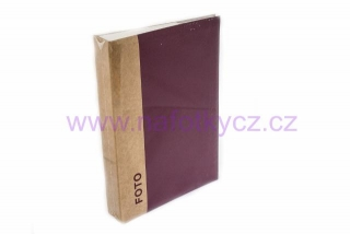 Fotoalbum UNIFORM BORDO 40/13x18