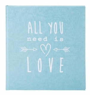 Fotoalbum ALL YOU NEED IS LOVE - BLUE